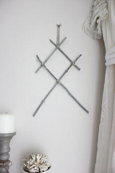 Othala. suspension murale pagan viking rune en par BoudoirDuChaman