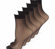 Bhs Womens Black 5 Pack Nylon Ankle Highs, black Great value 5 pack 100% nylon ankle highs with 15 denier appearance.100% nylon5 packOne size- fits shoe size 3-8Great value! http://www.comparestoreprices.co.uk/fashion-clothing/bhs-womens-black-5-pack-nylon-ankle-highs-black.asp