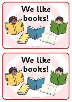 Twinkl Resources >> We Like Books Poster >> Classroom printables for Pre-School, Kindergarten, Elementary School and beyond! Classroom Posters, Classroom Displays, Classroom Resources, Teaching Resources, Classroom Ideas, Primary Teaching, Primary School, Pre School, Elementary Schools