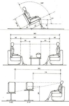 Ergonomic Chair Design Dimensions Canton Rental 39 Best Ergonomics Images Arquitetura Arredamento Bricolage How To Arrange The Living Room ソファ Diy Furniture Table