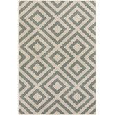 Found it at DwellStudio - Evans Trellis Dove Outdoor Rug