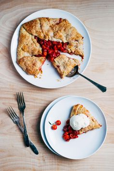 sour cherry galette // brooklyn supper