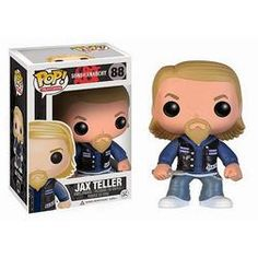 Ride through this world, or at least peck at your keyboard at work, with the company of this Sons of Anarchy Jax Teller Pop! Vinyl Figure! Standing 3 3/4-inches tall, this figure is an excellent rendition of actor Charlie Hunnam's constantly conflicted character Jax Teller. You don't need to be an MC member to ride in the Pop! Vinyl collector's...