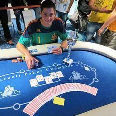 Um ás do Pôquer no Exército Israelense