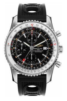 Breitling Navitimer World Mens Watch A2432212-B726-201S @majordor #majordor #breitlingwatches #breitlingnavitimerworld #chronograph #luxurywatches | www.majordor.com
