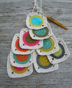 loads of lovely crochet project and colour inspiration on this blog. this links you to the first page of the crochet archive, enjoy!