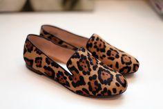 @Kelsie Bruce Leopard Print Shoes + Fashion