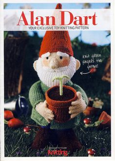 Simply Knitting+Simply Crochet+Knitting Magazine+Festive Knits to Gift 2011 Knitting Projects, Knitting Patterns, Crochet Patterns, Knitting Toys, Knitted Dolls, Crochet Dolls, Alan Dart, Simply Knitting, Simply Crochet