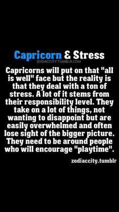Zodiac City Capricorn and stress All About Capricorn, Capricorn Facts, Capricorn Quotes, Zodiac Signs Capricorn, Capricorn And Aquarius, My Zodiac Sign, Zodiac Quotes, Astrology Signs, Zodiac Facts