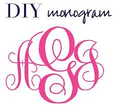 Custom Monogram Generator. This one actually works and is easy to ...