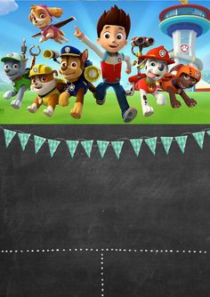 Paw Patrol Invitations FREE to edit and print Happy Birthday Text, Happy Birthday Cake Topper, Twin Birthday, Paw Patrol Decorations, Diy Party Decorations, 5th Birthday Party Ideas, Boy Birthday Parties, Paw Patrol Party Invitations, Paw Patrol Birthday Theme