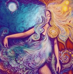 """""""Love her but leave her wild."""" ❤ - Atticus Project 11, Goddess Art, Sagrada, Divine Feminine, Easy Drawings, Alchemy, Psychedelic, Sketching, Surrealism"""