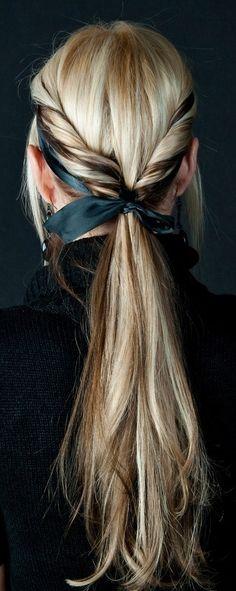 twist pony ♥✤ | Keep the Glamour | BeStayBeautiful