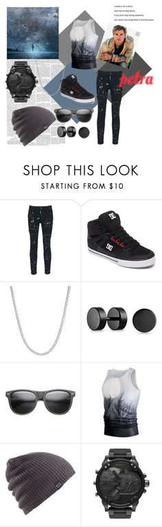 """""""OC-Petra~Jonathan~"""" by anna-k-teske ❤ liked on Polyvore featuring Dsquared2, DC Shoes, Bling Jewelry, ZeroUV, Burton, Diesel, men's fashion and menswear"""
