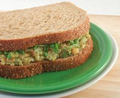 Who knew mashed up chickpeas could taste just like tuna? It's amazing how this sandwich tastes like the real thing.. except with out the fish, mercury, cholesterol and preservatives... It's the healthiest and tastiest TuNo around!
