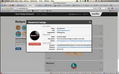 WPBadger - WordPress plug-in for issuing Mozilla Open Badges.
