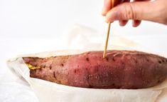 さつまいもを電子レンジで【甘〜い焼き芋】にするテク | ほほえみごはん-冷凍で食を豊かに-|ニチレイフーズ Pork, Meat, Junk Food, Japanese Food, Recipes, Kale Stir Fry, Recipies, Japanese Dishes, Ripped Recipes