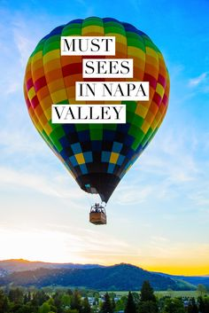 Discover unique views, architecture, eats and accommodation to try on your next visit to Napa Valley.