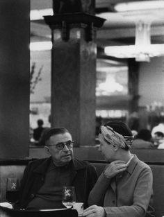Jean-Paul Sartre et Simone de Beauvoir
