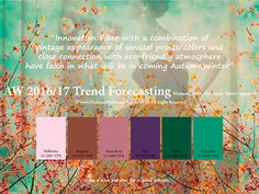 AW2016/2017 trend forecasting on Adweek Talent Gallery