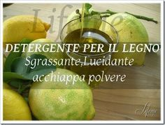lifeme: DETERGENTE PRONTO LEGNO FAI DA TE:LUCIDANTE,SGRASS...