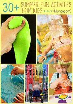 30+ Summer Fun Activities for Kids