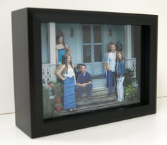 Shadow Box Picture 3-D Layered Photograph by ENQuisitivelyMade