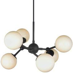 Atom lysekrone, diameter 40 cm - Lysekrone - Takpendel - Innebelysning   Lysbutikken.no