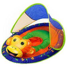 SwimWays Baby Spring Float Monkey - $CAD43.99 : Ottawa baby store. Essentials in style. fabbabygear.com