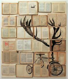 Está claro que los libros además de para aprender y entretener sirvan para más cosas. Seis maneras de decorar con libros…