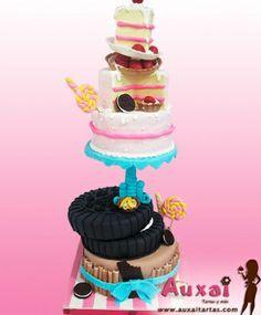 Tall cake Candy Bar