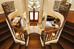 Entry Stairs. I want it slightly different, two entrances on bottom and meeting at the top.