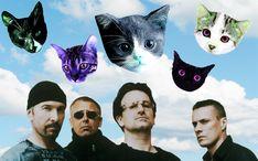 """It's a beautiful day / Sky's full of felines"" — U2's Misheard Lyrics"