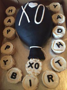 The weeknd XO theme Birthday Cake