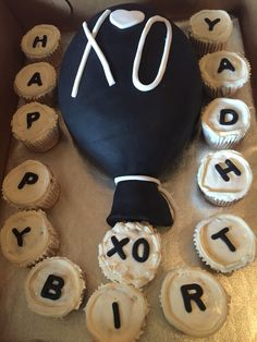 The weeknd XO theme Birthday Cake