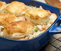 Fast & Easy Chicken and Biscuits