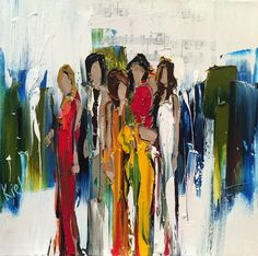 "Kimberly Kiel - For Then - 12"" x 12"" - oil on canvas"