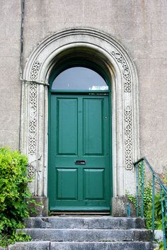 Doorway on St. Patrick's Hill    Cork, Ireland