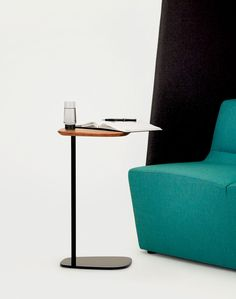 Bloom Freestanding Occasional Table by Keith Melbourne. Available from Stylecraft.com.au Unique End Tables, Laptop Table, Visual Display, Conference Table, Wood Desk, Work Surface, Furniture Manufacturers, Interiores Design, Office Furniture