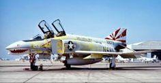 USN McDonnell Douglas F-4D Phantom.