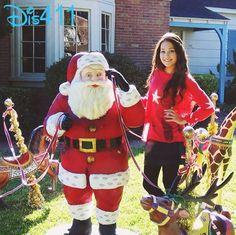 Photo: Kelli Berglund With Santa December 17, 2013