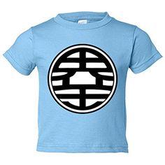 Camiseta niño Dragon Ball logo Goku de Kaito - Celeste, 12-18 meses #camiseta #starwars #marvel #gift