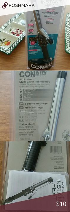 Curling Iron 3/4 in by Conair New in package. Accessories Hair Accessories