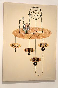 """Patricia Gadea. Exposición """"Atomic Circus"""" en el Museo Reina Sofía de Madrid. #ArteContemporáneo #ContemporaryArt #Art #Arte #spanishartists #artistasespañoles #Arterecord 2014 https://twitter.com/arterecord"""