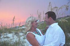 Beach engagement session.  Emerald Coast Images. Family Beach Photography. Perdido Key, Florida. Emerald Coast & beyond.