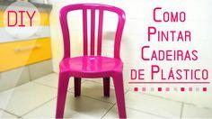 Como Pintar Cadeiras de Plástico                                                                                                                                                                                 Mais