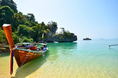 Pak Bia Island (small island, crowded during tourist season) - Nong Thale, Thailand