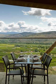 Miradoro Restaurant at Tinhorn Creek winery offers a great view of the valley, the concert bowl and serves a great rose that you can't get at the wine store. Outdoor Tables, Outdoor Decor, Wine Festival, Easter Brunch, Christmas Fashion, Great View, Wine Country, Wonderful Places, Wine Recipes