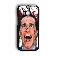 Christian Bale American Psycho Movie HTC One M9 Case