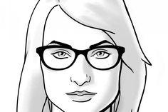 Afbeeldingsresultaat voor dark hair square face glasses